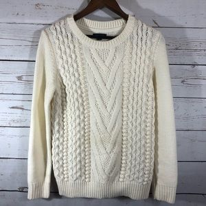 Tommy Hilfiger Cable Knit Chunky Sweater.